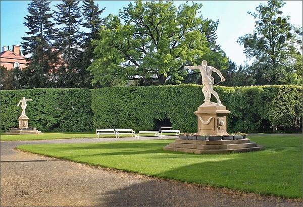 Vizovice, zámecká zahrada