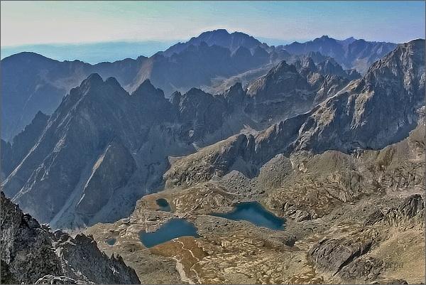 Malá Studená dolina z Pyšného štítu