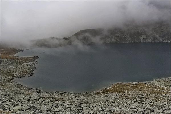 Mlha u Veľkého Hincovho plesa