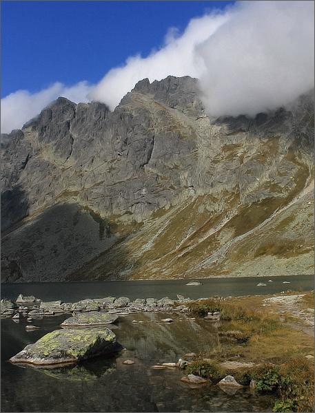 Kotlina Hincových plies a Prostredný Mengusovský štít
