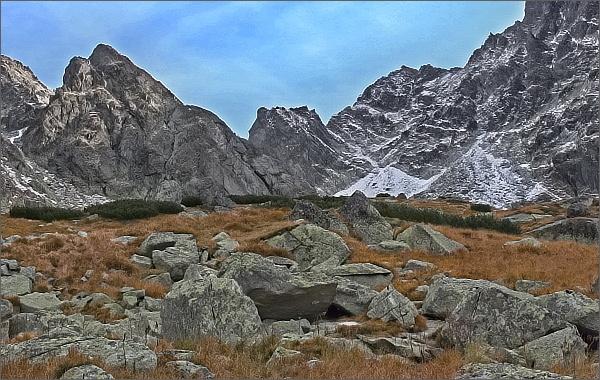 Říjnový záchvěv babího léta ve Vysokých Tatrách