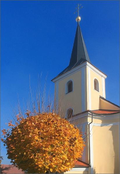 Šubířov. Kostel Sedmibolestné Panny Marie