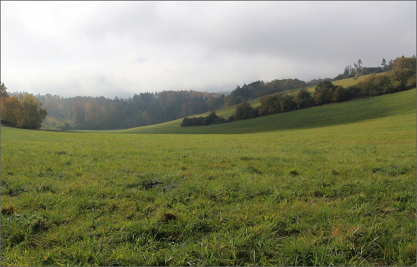 Krajina v Přírodním parku Kladecko