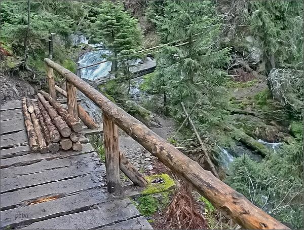 Cesta kolem vodopádů Bílé Opavy