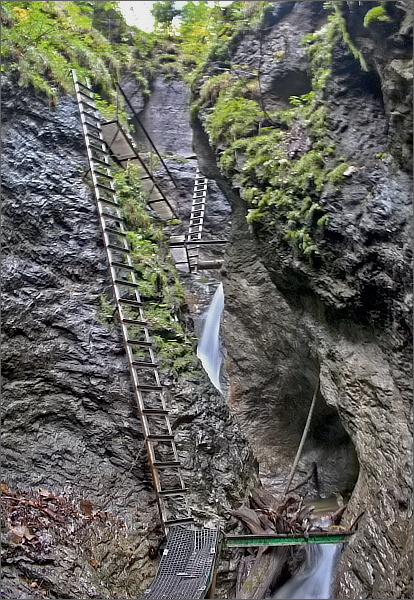 Suchá Belá, Misové vodopády