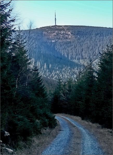 A ještě jednou Praděd z Dřevařské cesty