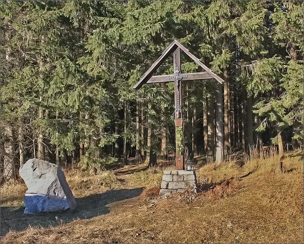 Kříž ve Videlském sedle
