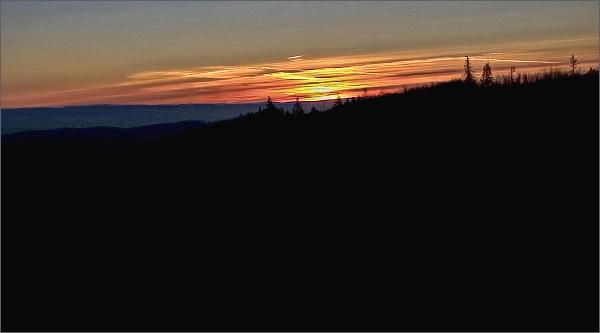 Svítání nad Kunštátem