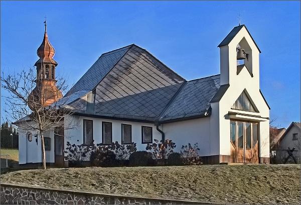 Rozseč nad Kunštátem. Kaple sv. Antonína Paduánského