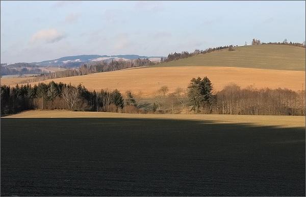 Horní les od Rozsíček