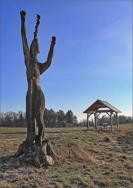 Podivná socha