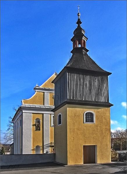 Trpín, kostel sv. Václava