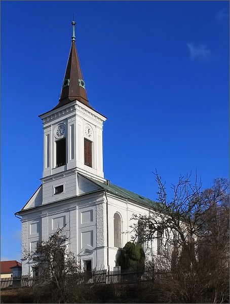Evangelický kostel v Rovečném