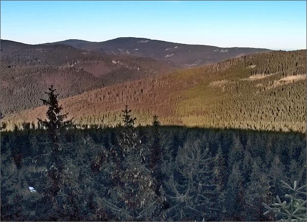 Medvědí vrch z Lyry