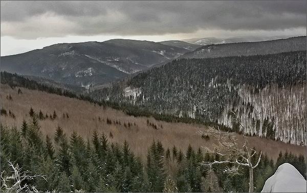 Žárový vrch a Lyra z Kamzičí skály