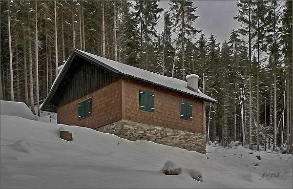 Solná chata nedaleko Kamzičí skály