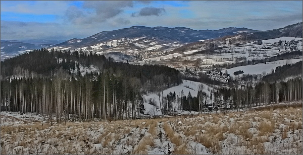 Studniční vrch nad Jeseníkem