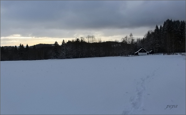 Tady stávala obec Morgenland
