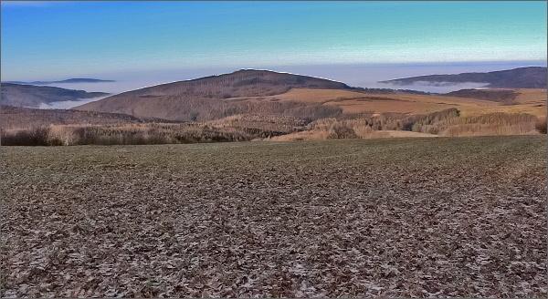 Pohled z Kubíkova vrchu