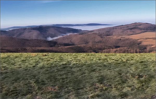 Pohled ze Šibenického vrchu