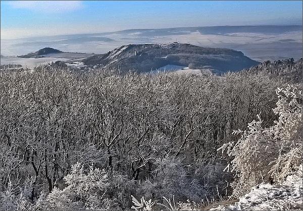 Stolová hora a Turold z Děvína