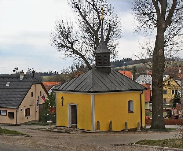 Tasovice, kaple sv. Trojice