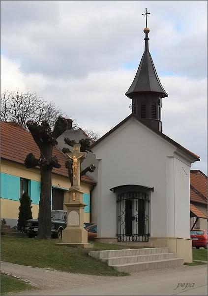 Býkovice, kaple Nejsvětější Trojice