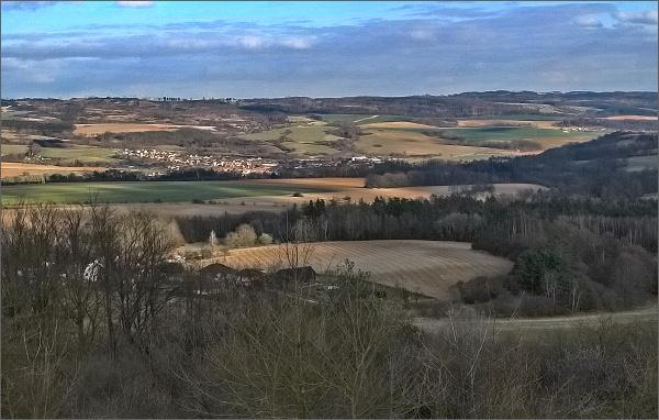 Malý Chlum, pohled k Doubravici nad Svitavou
