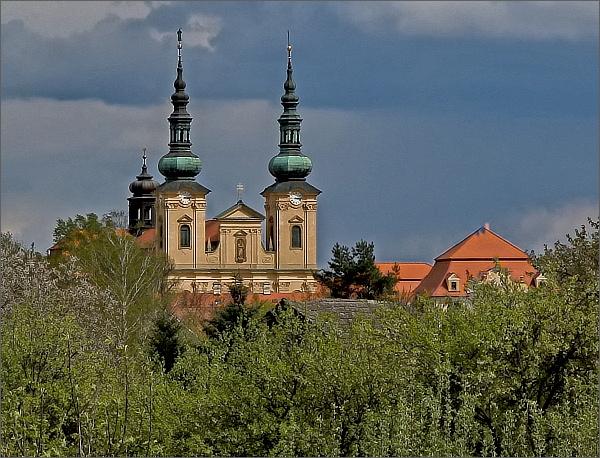 Velehrad. Bazilika Nanebevzetí Panny Marie a svatého Cyrila a Metoděje