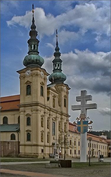 Velehrad. Bazilika Nanebevzetí Panny Marie a sv. Cyrila a Metoděje