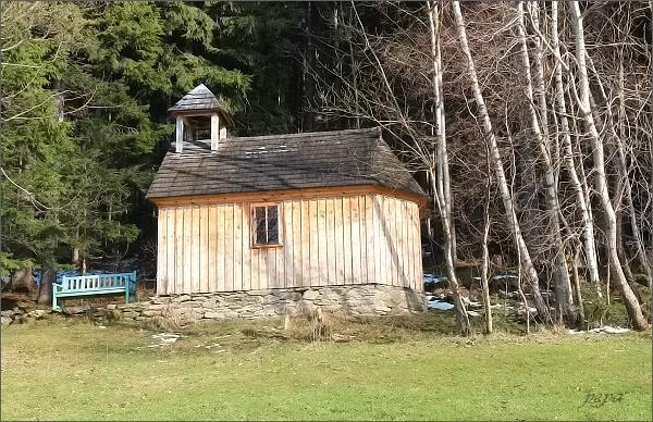 Železná, kaple Panny Marie Sněžné