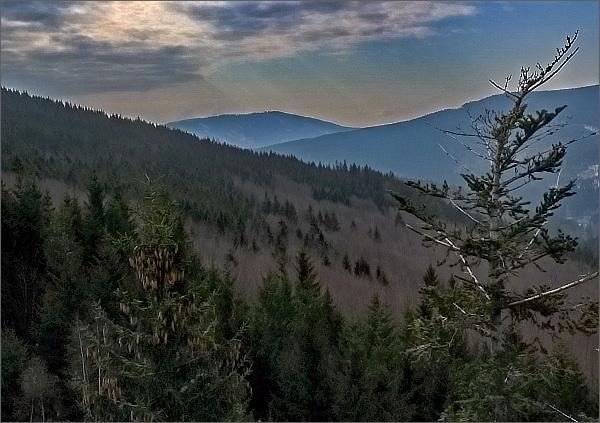 Vysoká hora z Kamzičí skály