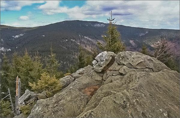Karliny kameny a Medvědí vrch
