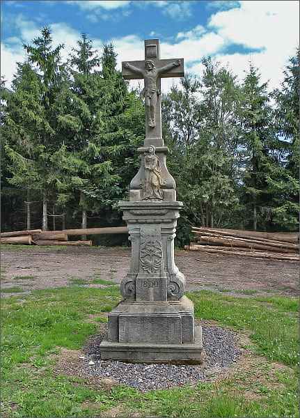 Kříž na Křížové hoře
