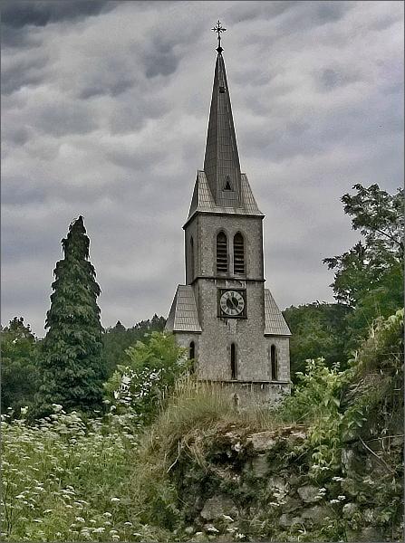 Travná, kostel Neposkvrněného početí Panny Marie